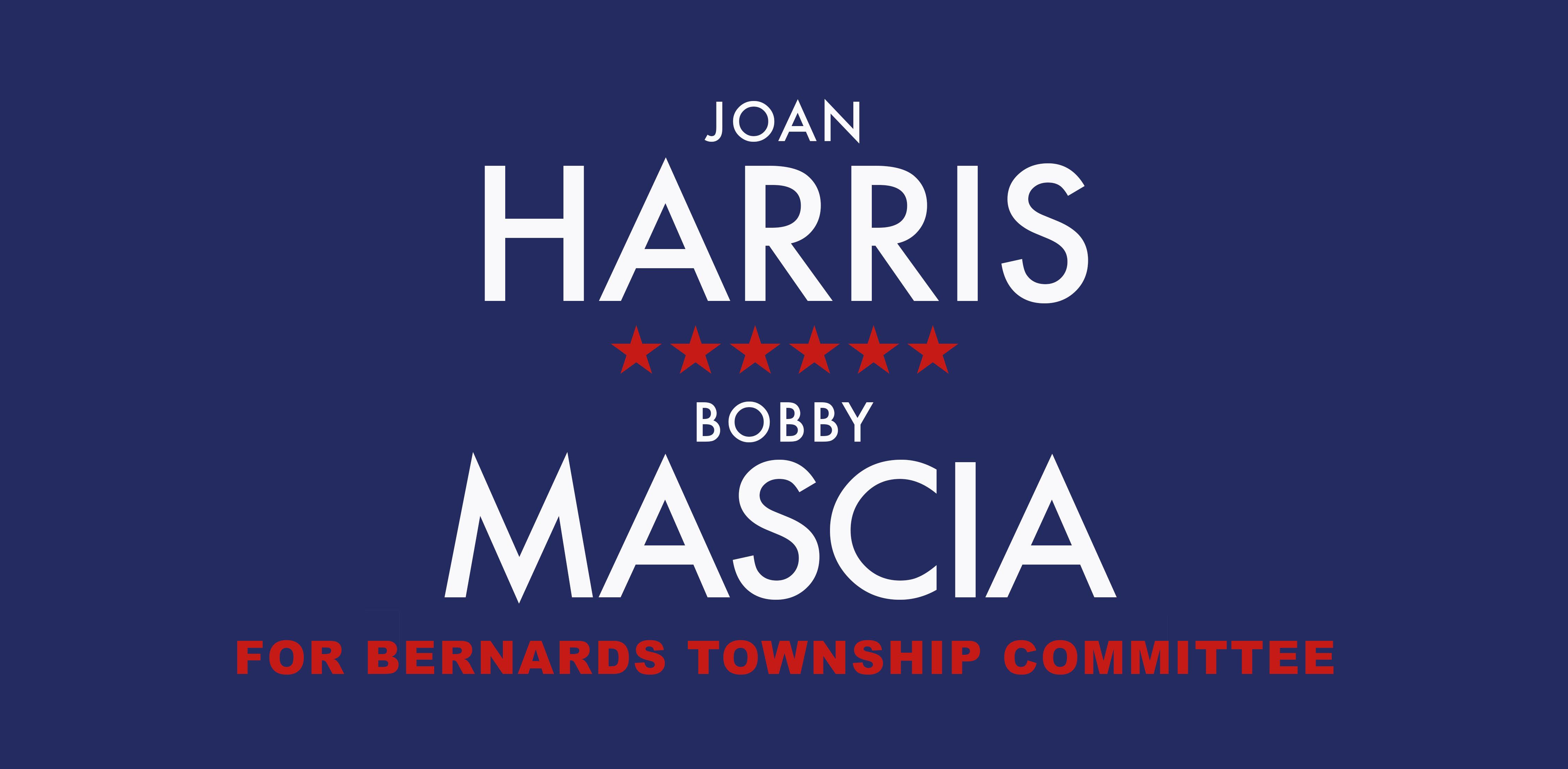 Joan Harris & Robert Mascia Campaign