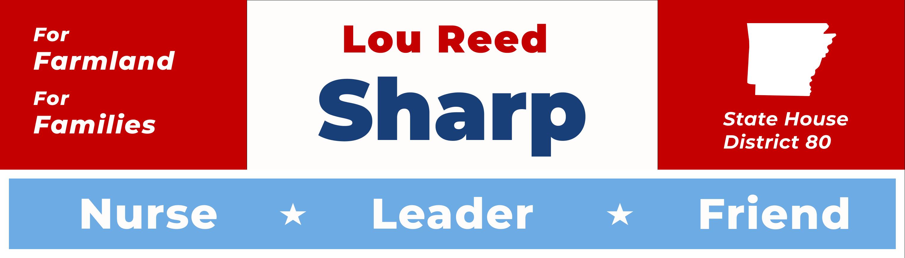 Lou Reed Sharp