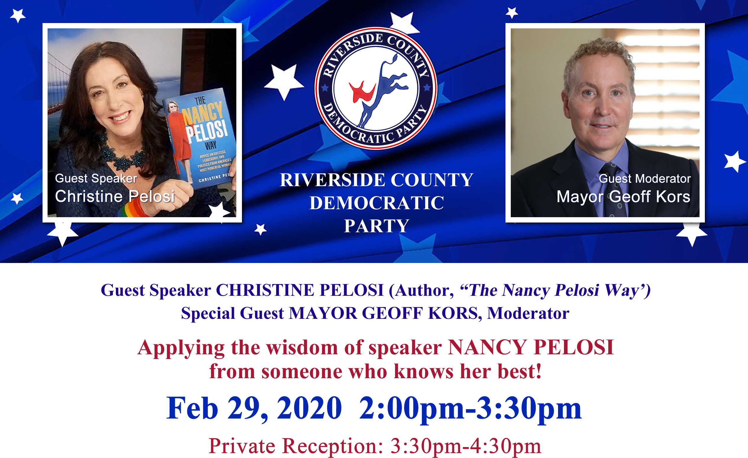 Riverside County Democratic Central Committee - Federal