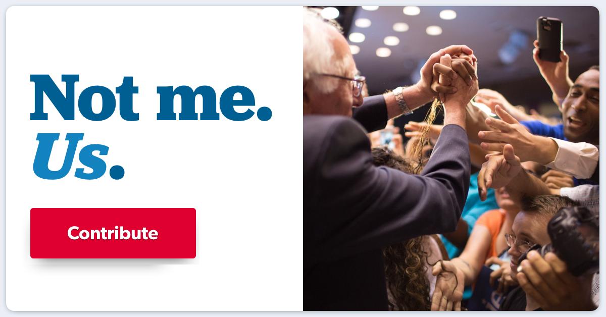 Contribute to Bernie Sanders